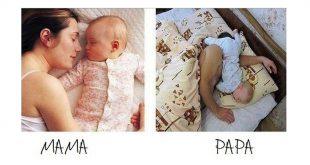 Apa vs Anya a gyerekekkel- vicces fotók!