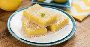 Könnyű citromos szelet 5 összetevőből