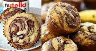 Mennyei Nutellás muffin- mutatjuk lépésről lépésre!