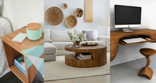 Különleges fa bútorok, amiktől leesik az állad!